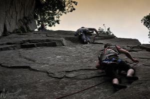 Climbing mtns